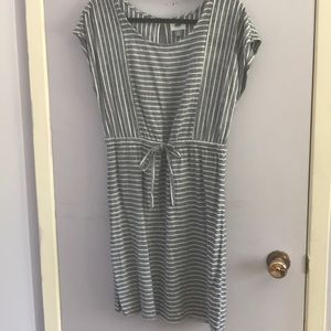 Stripped Old Navy dress